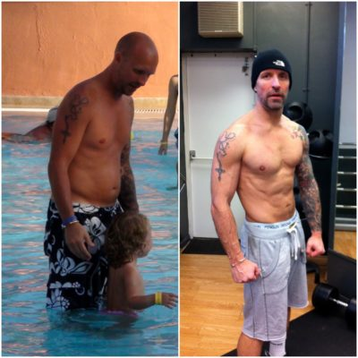 before  afters male  design your physique personal